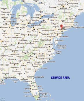 Moving Company service area